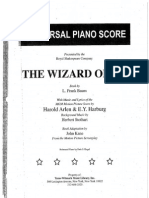 The Wizard of Oz-Score