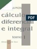 Cálculo Diferencial e Integral - Piskunov Tomo 1