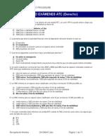 Derecho Aéreo ATPL Con Respuestas