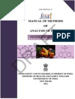 Pesticide Residue Manual