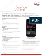 OS 5.0.0.508 for Blackberry Curve 8530 Release Notes