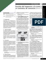 Tratamiento Contrato Consorcio Con Contab Independiente I
