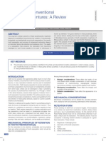 Retention in Conventional Fixed Partentional Fixed Partial Dentures