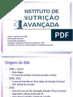 Aula 1 - Introdução Nutrição Funcional