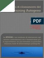 La Tecnica Di Rilassamento Del Training Autogeno