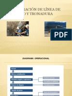 Preparación de Línea de Tiro y Tronadura