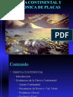 Derivac Continental y Tectonica de Placas