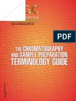 The Terminology Guide for Chromatographers