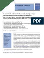 Guía clínica de la Asociación Europea de Urología sobre el tratamiento quirúrgico de la incontinencia urinaria.pdf