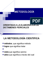 Metodologia Del Dictamen