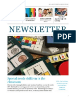 special ed newsletter - assignment 2