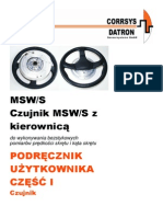 Cds-m MSW-II e Czujnik Kierownicy PL