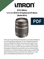 18 200di II Manual