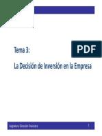 Tema 3 - Dirección Financiera