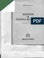 Fuentes Del Derecho. José Vilanova
