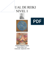 Manual de Reiki Usui I