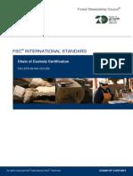 FSC STD 40 004_V3 0_EN Chain of Custody Certification