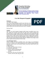 Kolom Marketing Majalah DUIT Nov 2012, Cara Mengatasi Kegagalan