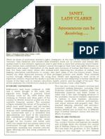 Janet, Lady Clarke