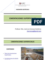 2.8 Cimentaciones Superficiales
