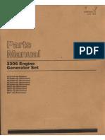 Parts Manual 3306 Generador