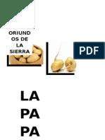 Productos Oriundos de La Sierra (2)