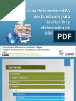 Guia de Normas APA Para Citacion y Elaboracion de Bibliografias