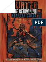 Hunter the Reckoning - Player's Guide