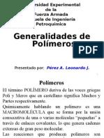 Generalidades de Polimeros