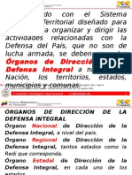 Organos de Direcciòn Territorial