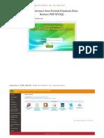 Sistem Informasi Surat Perintah Perjalanan Dinas PHP MYSQL