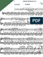 Lyadov Prelude Op 11 No.1