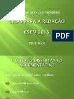 Redação Enem 2015