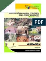 Estudio de la vegetación en San Martin