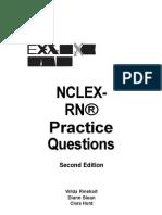 NCLEX RN Exam Cram Practice Questions