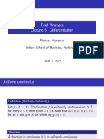 Real Analysis Lecture ppt