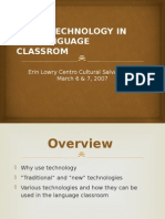 Using Technology in the Language Classrom