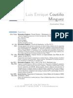 CV Luis Coutino