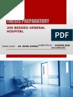 Hospital Thesis Preparatory GAURAV