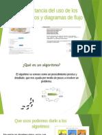 Importancia del uso de los algoritmos y diagramas de flujo