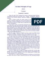principles of Yoga PDF