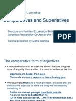 skills 27-29 comparative and superlatives