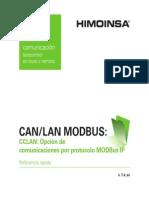 Cclan Modbusip v1.4