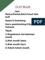 Folio Muzik alat  muzik