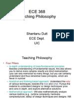 Ece368 Teaching Philosophy