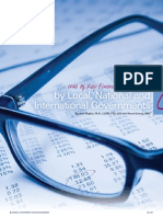 Use of Key Financial Lndicators by Local, National and International Governments