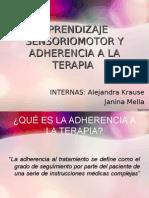 3 Aprendizaje Sensoriomotor y Adherencia a La Terapia Final