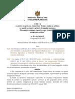 instructiunea ministerului agriculturii
