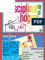 La Disciplina en El Hogar