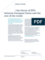EU Reveals the Future of BITs Between European States and the Rest of the World